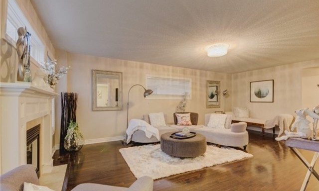 Living Room, 49 Stammers, Ajax Home Staging