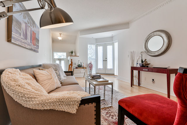 Living Room, 5418 Yonge St., Toronto Home Staging