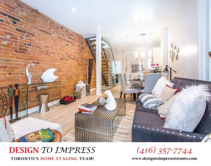 Living Room, 574 Manning, Toronto Home Staging