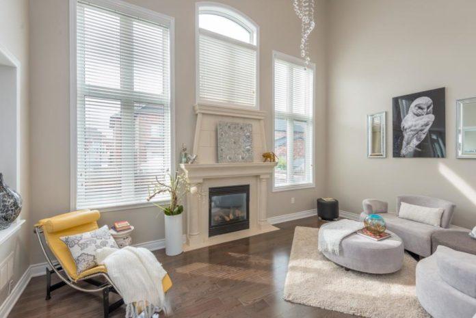 Living Room, 59 Stanton, Woodbridge Home Staging