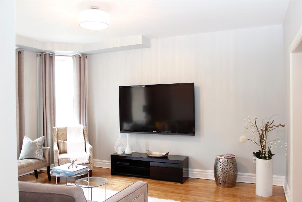 Living Room, 758 O'Connor, Toronto Home Staging