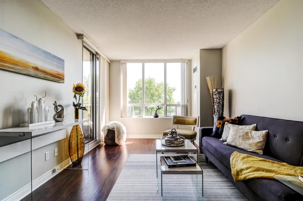 Living Room Hallway, 265 Doris, Toronto Condo Staging