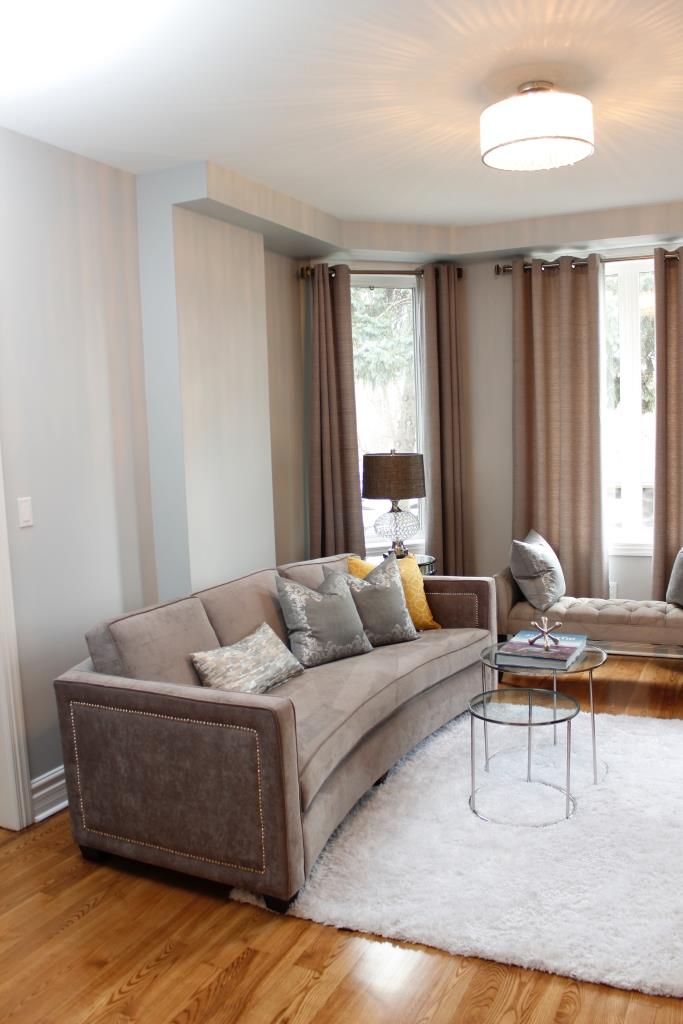 Living Room Window, 758 O'Connor, Toronto Home Staging