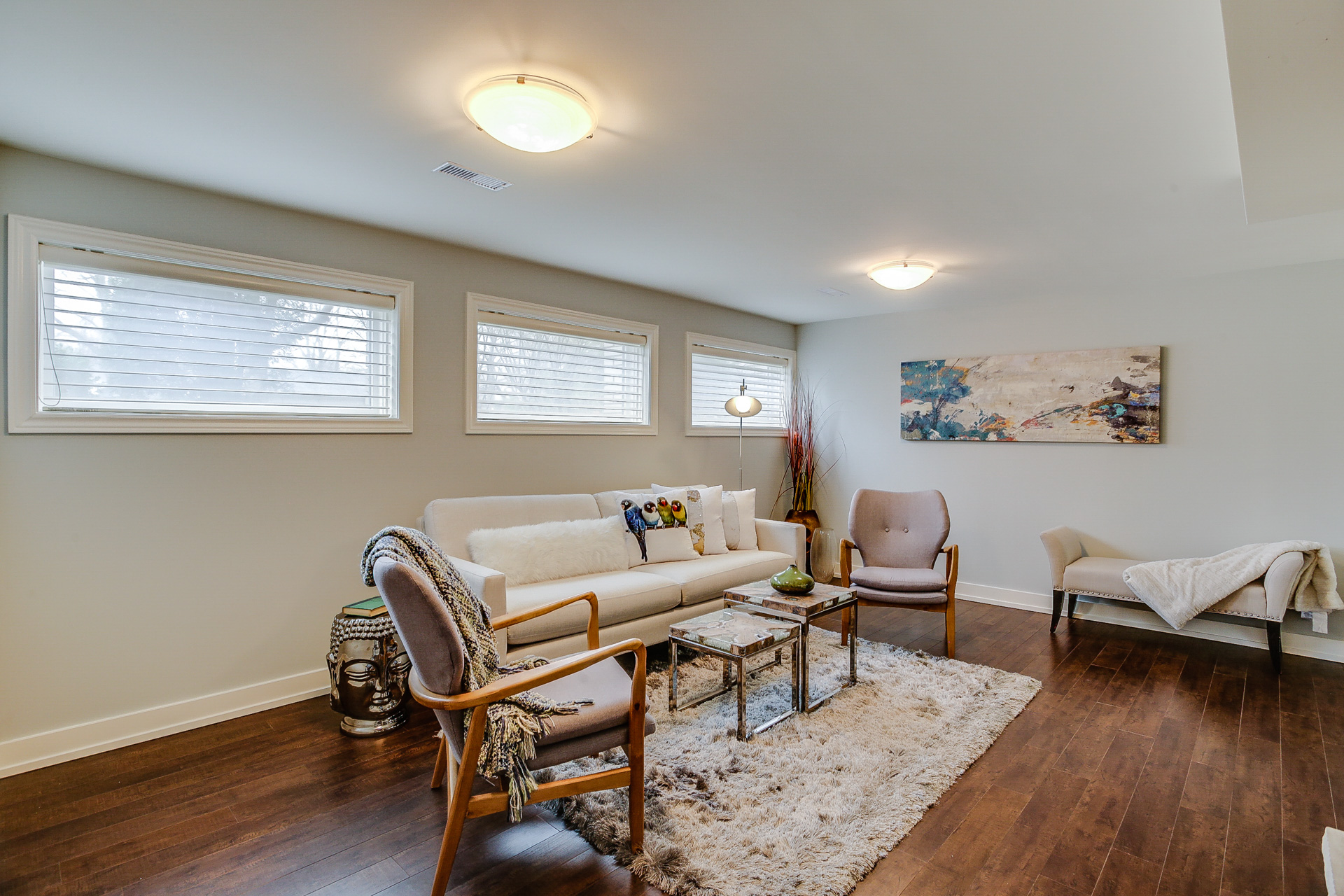 Lower Level, 26 Boxbury, Etobicoke Home Staging