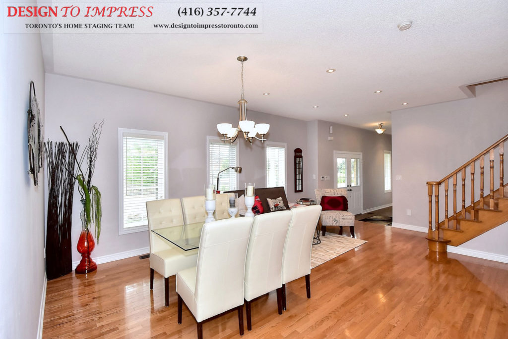 Main Area, 132 Israel Zilber, Vaughan Home Staging
