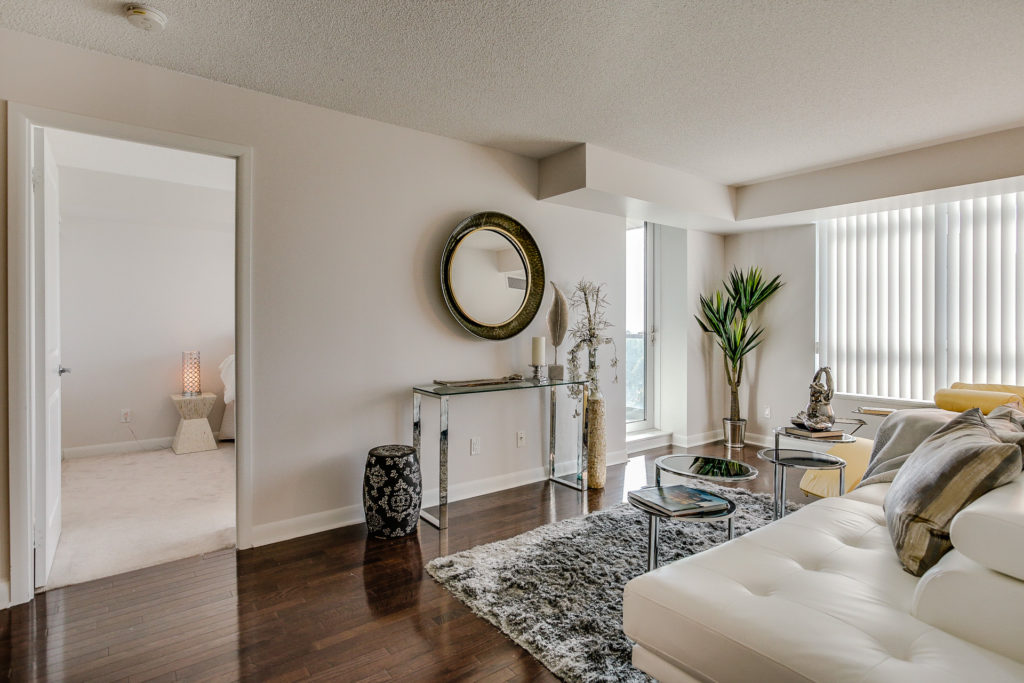 Main Area, 235 Sherway Gardens, Etobicoke Home Staging