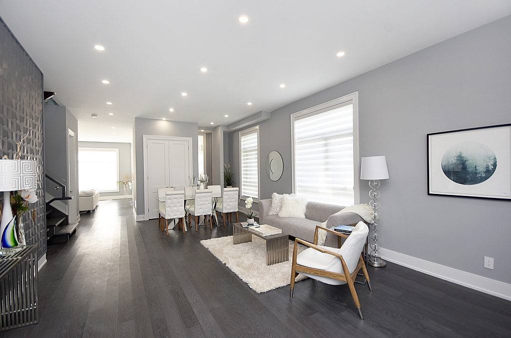 Main Area, 948 Third, Mississauga Home Staging