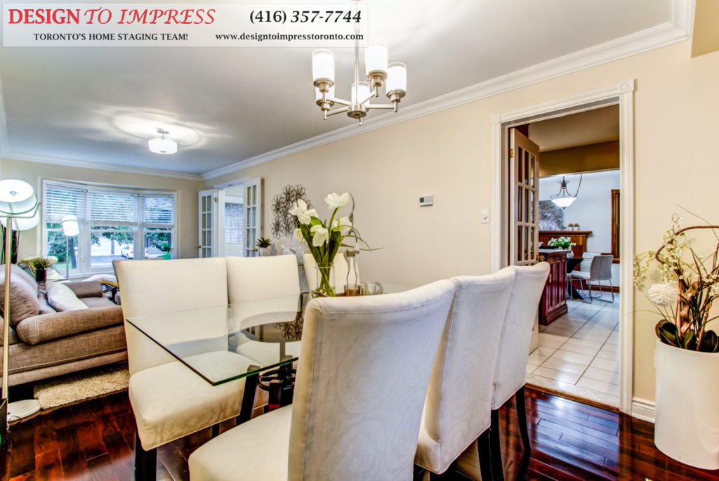 Main Floor, 133 Huntington Park, Thornhill Home Staging