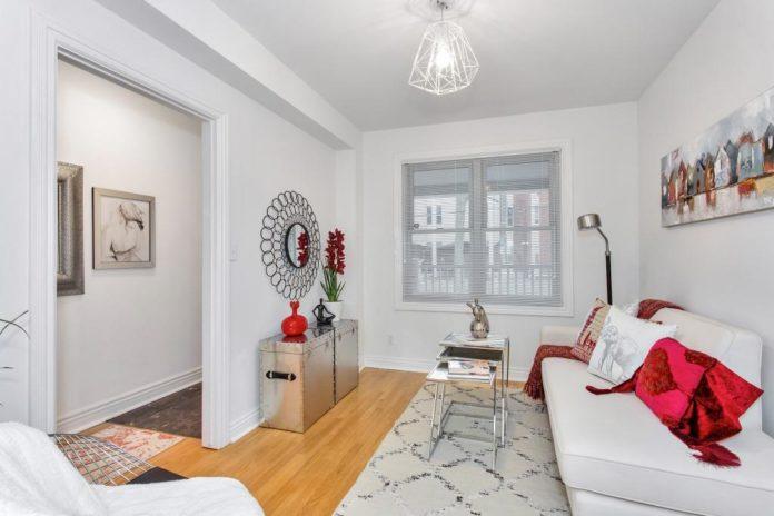 Main Floor, 723 Markham, Toronto Home Staging
