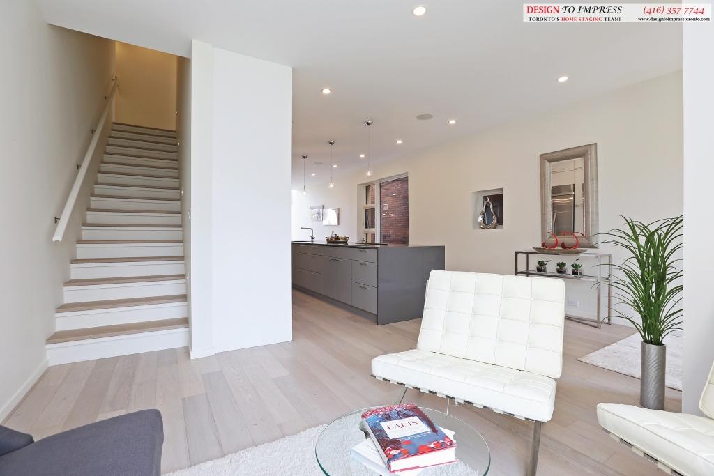 Main Floor, 75 Parkway, Toronto Home Staging