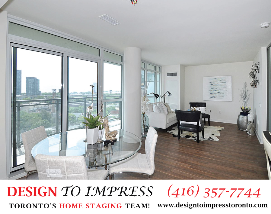 Main Floor, 78 Tecumseth, Toronto Condo Staging