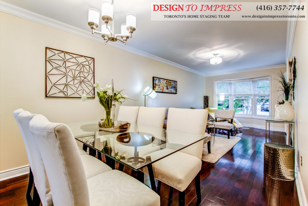 Main Floor POV, 133 Huntington Park, Thornhill Home Staging
