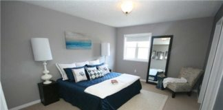Master Bedroom, 140 Candlebrook, Whitby Home Staging