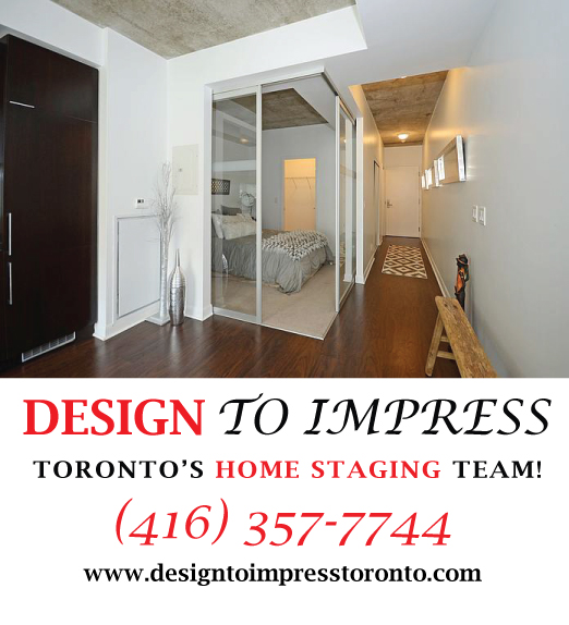 Master Bedroom, 478 King St., Toronto Condo Staging
