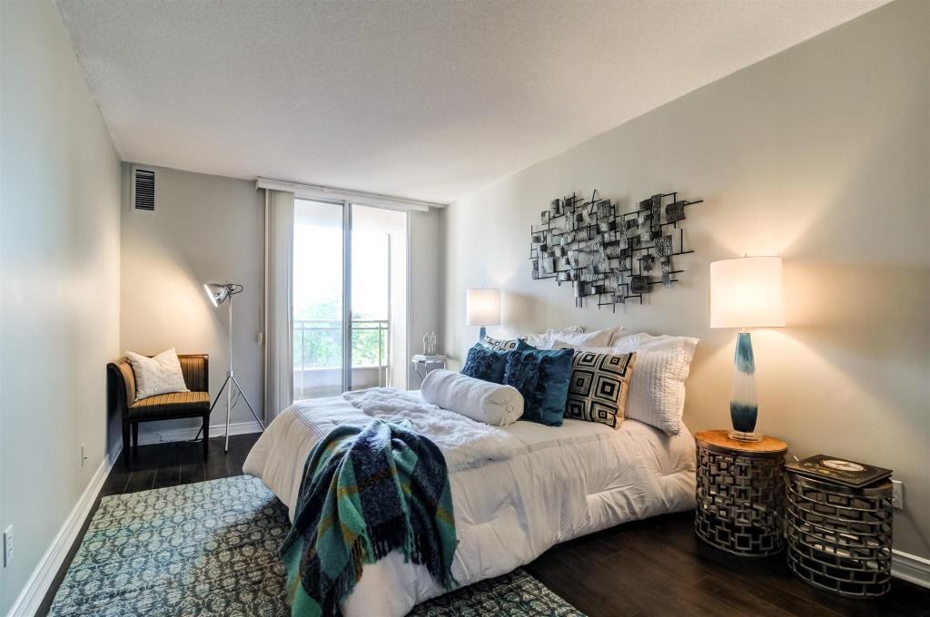 Master Bedroom, 265 Doris, Toronto Condo Staging