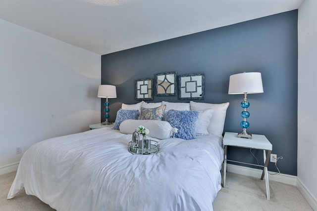 Master Bedroom, 5418 Yonge St., Toronto Home Staging