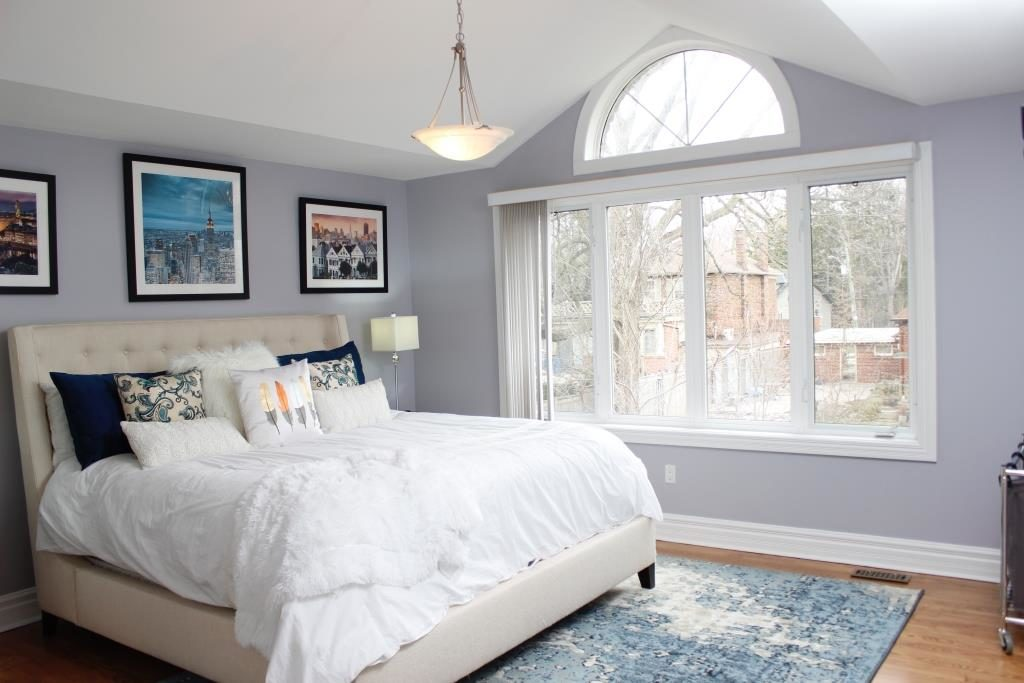 Master Bedroom, 758 O'Connor, Toronto Home Staging