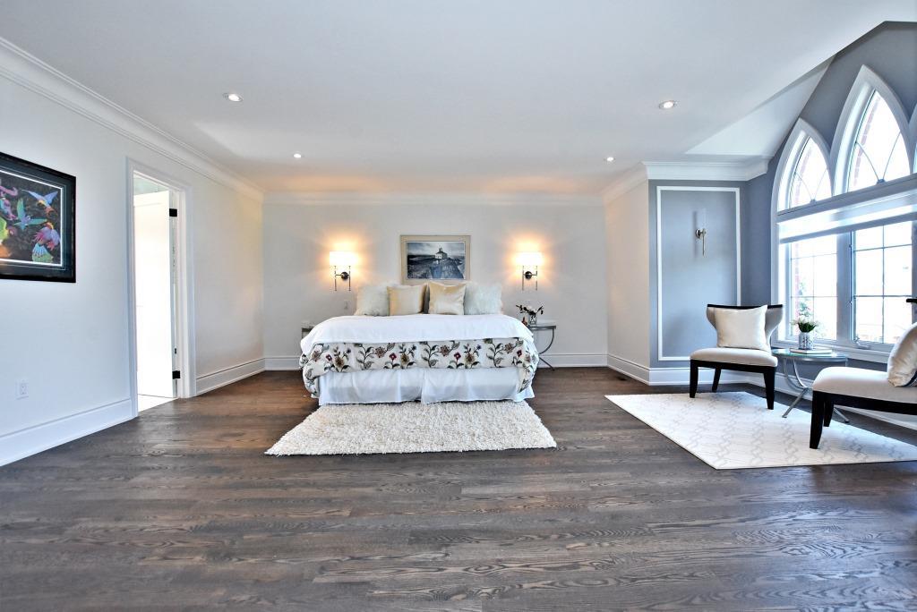 Master Bedroom, 91 Wheeler, East York Home Staging
