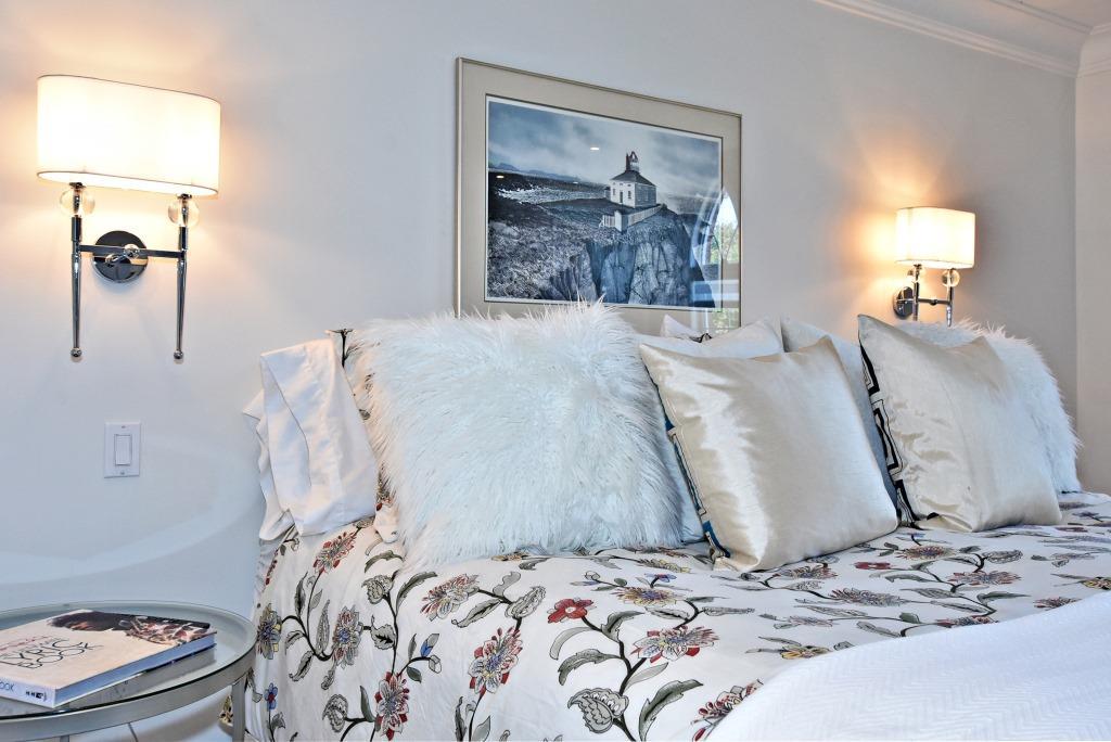 Master Bedroom Walls, 91 Wheeler, East York Home Staging