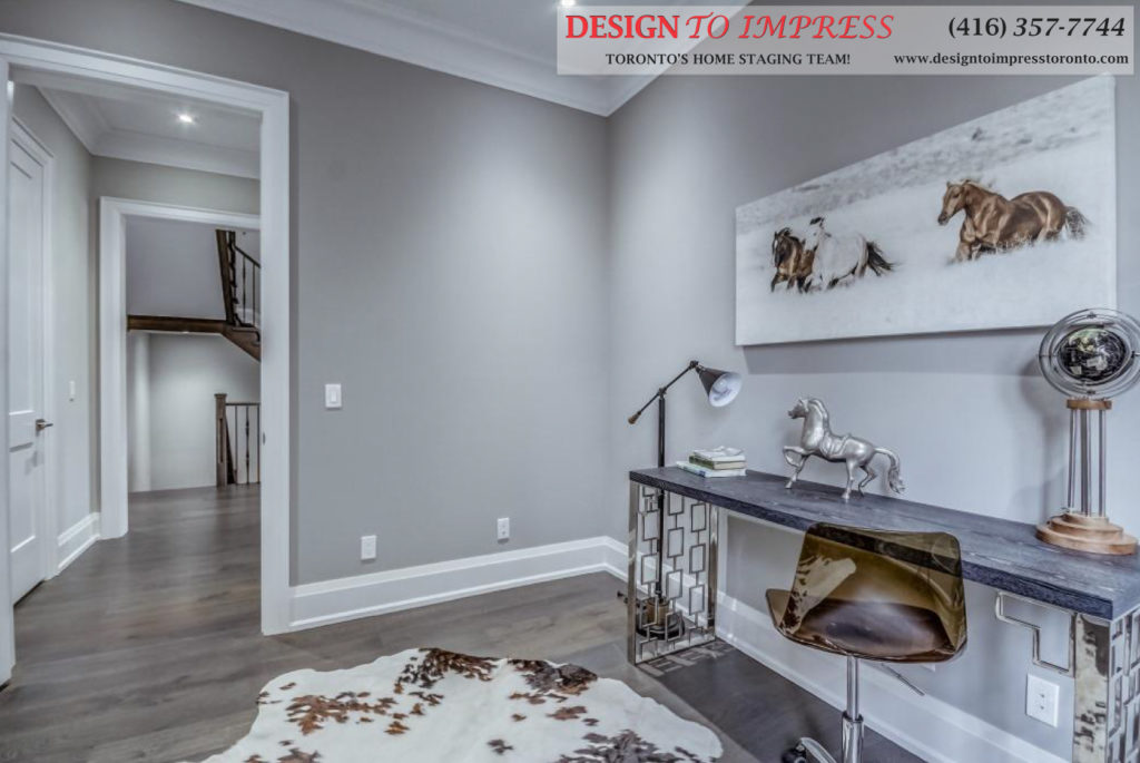 Office, 1787 Spruce Hill, Pickering Home Staging