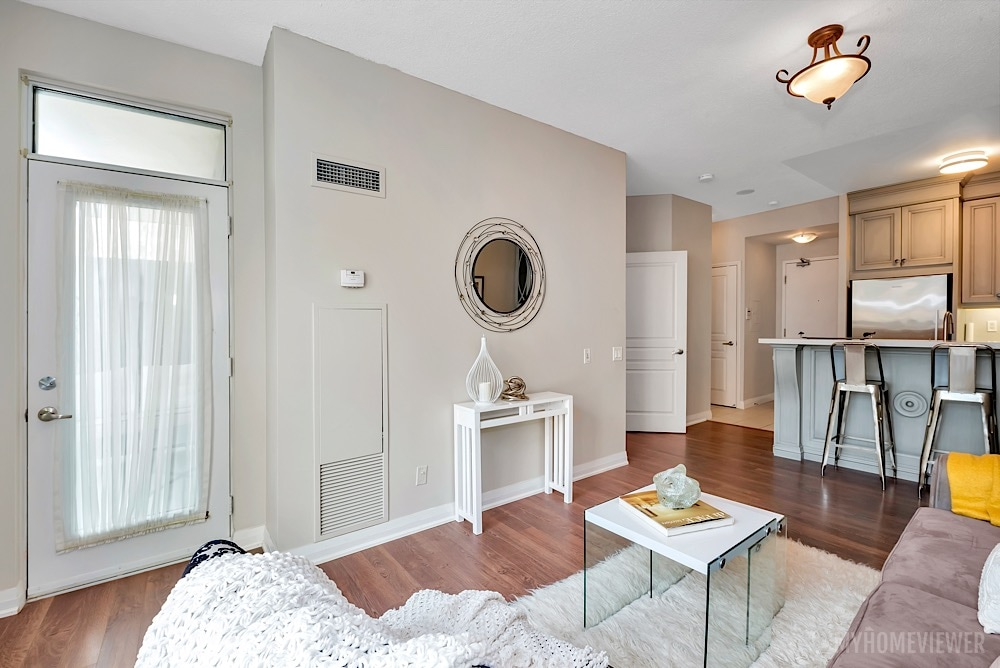 Open Concept, 1121 Bay St., Toronto Condo Staging