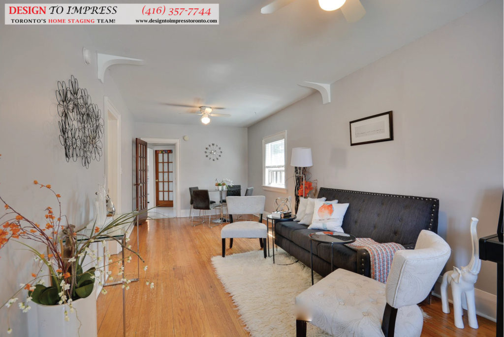 Open Concept, 13 Eileen, Toronto Home Staging
