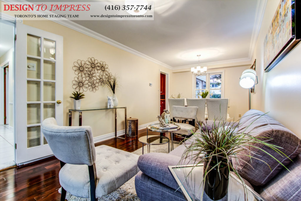 Open Concept, 133 Huntington Park, Thornhill Home Staging