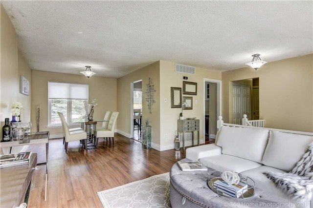 Open Concept, 210 Beech, Whitby Home Staging