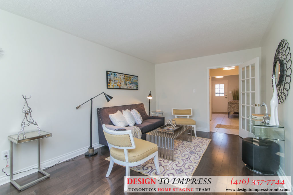 Open Concept, 230 Royal Orchard, Thornhill Home Staging