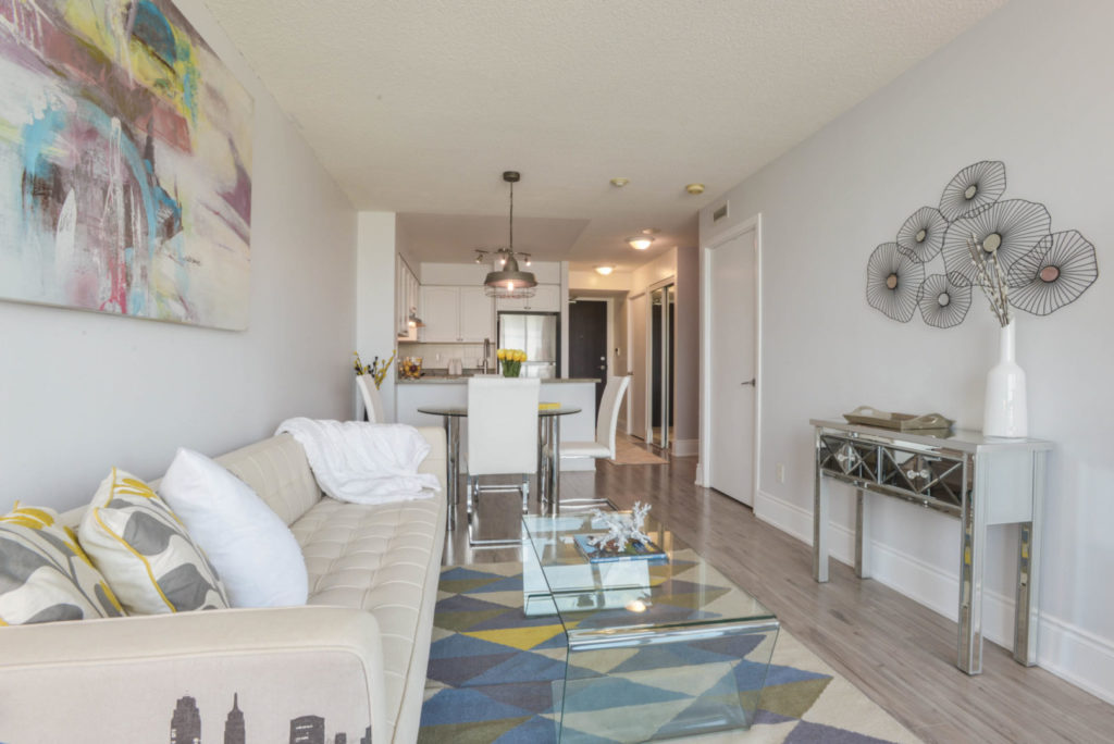 Open Concept, 231 Fort York, Toronto Condo Staging