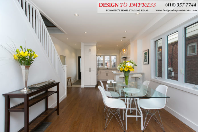 Open Concept, 291 Springdale, Toronto Home Staging