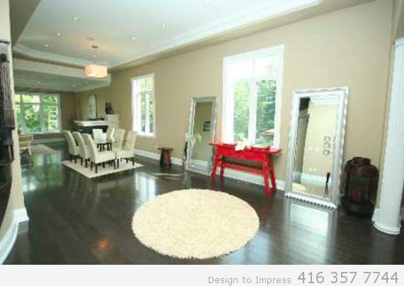 Open Concept, 448 Toynevale, Pickering Home Staging