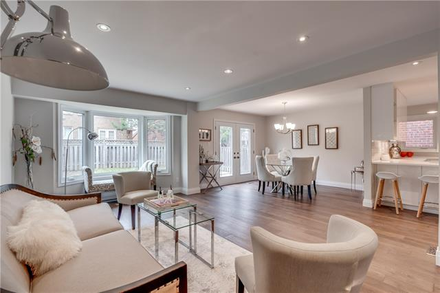Open Concept, 66 Springfield, Thornhill Home Staging