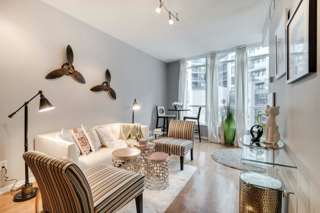 Open Concept Front View, 231 Fort York, Toronto Condo Staging