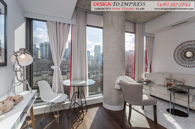 Open Concept, Fashion House, Toronto Condo Staging