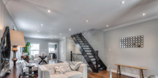 Open Concept, 22 Rhodes, Toronto Home Staging