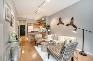 Open Concept Side View, 231 Fort York, Toronto Condo Staging