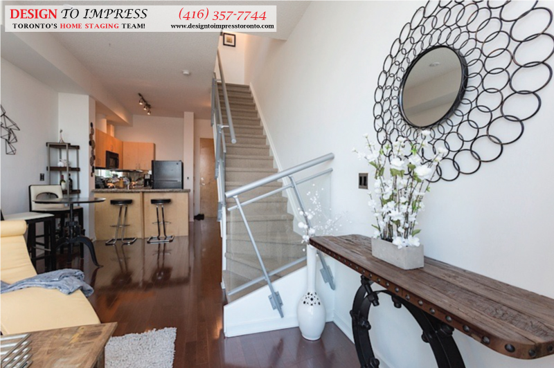 Open Concept View, 388 Richmond, Toronto Condo Staging