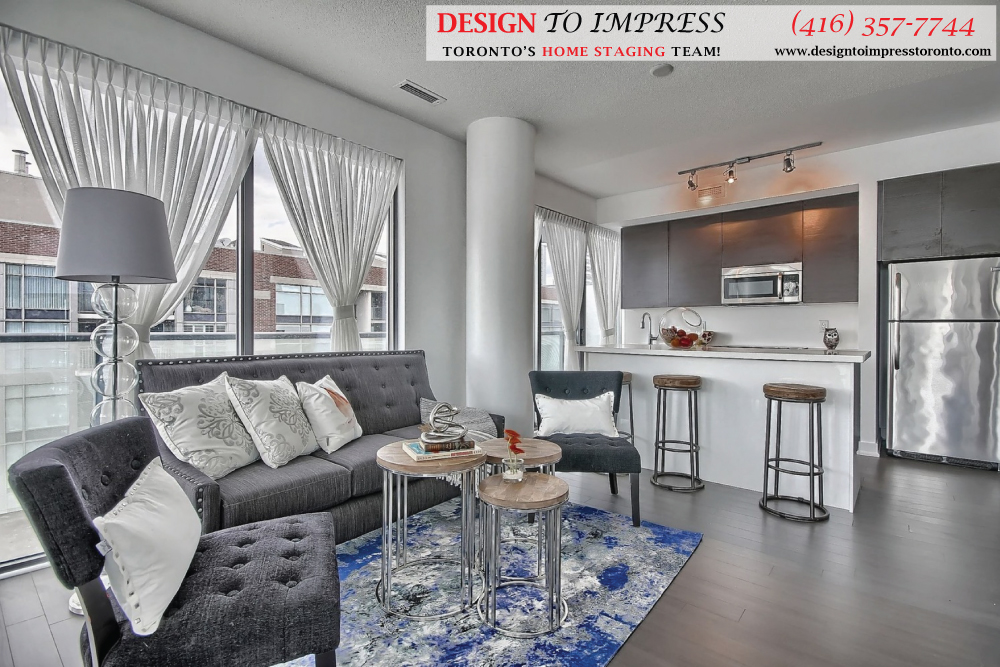Open Concept, 1815 Yonge, Toronto Condo Staging