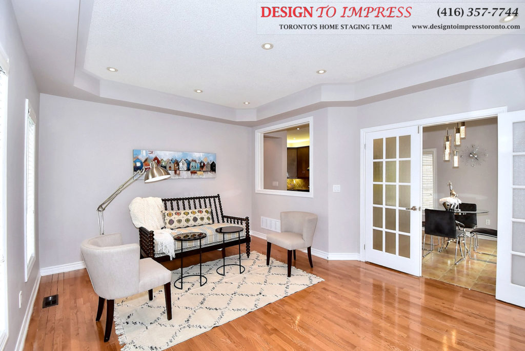 Reading Room, 132 Israel Zilber, Vaughan Home Staging