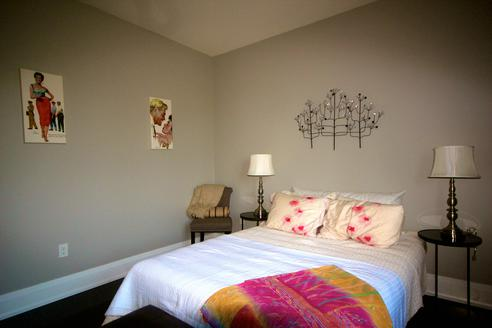 Second Bedroom, Rosedale House, Toronto Home Staging