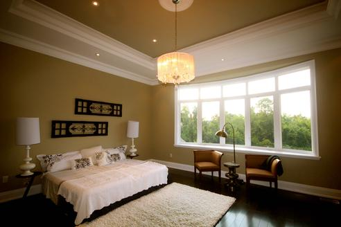 Bedroom, Rosedale House, Toronto Home Staging