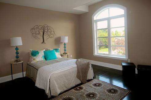 Fourth Bedroom, Rosedale House, Toronto Home Staging