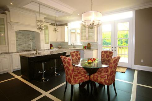 Eat-in Kitchen, Rosedale House, Toronto Home Staging