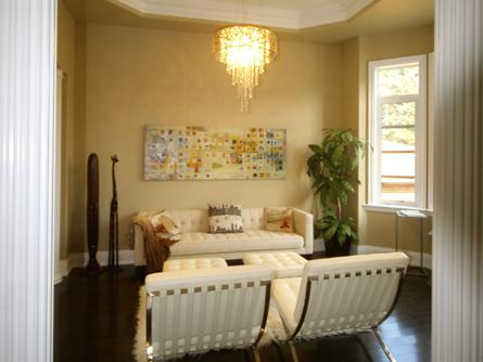 Living Room, Rosedale House, Toronto Home Staging