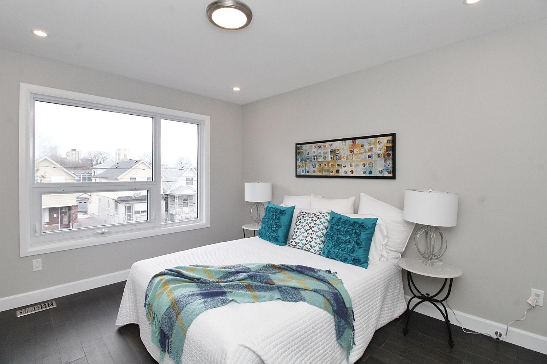 Second Bedroom, 182 Oak Park, East York Home Staging