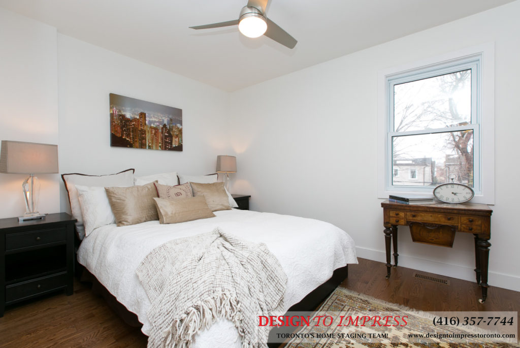 Second Bedroom, 291 Springdale, Toronto Home Staging