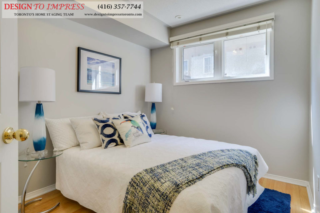 Second Bedroom, 31 Foundry, Toronto Home Staging