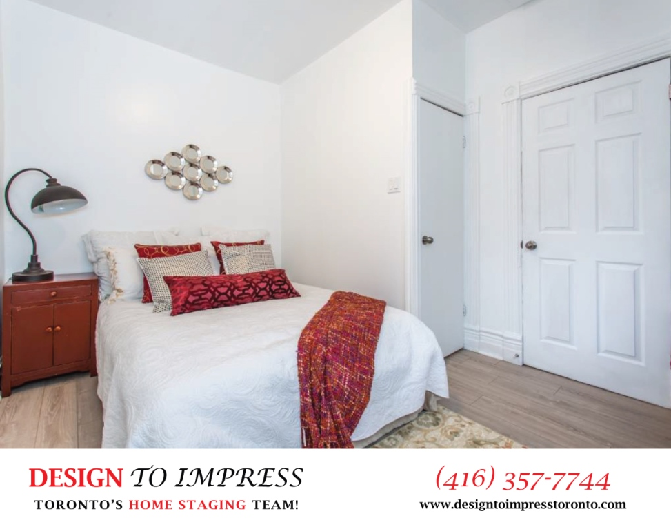 Second Bedroom, 574 Manning, Toronto Home Staging