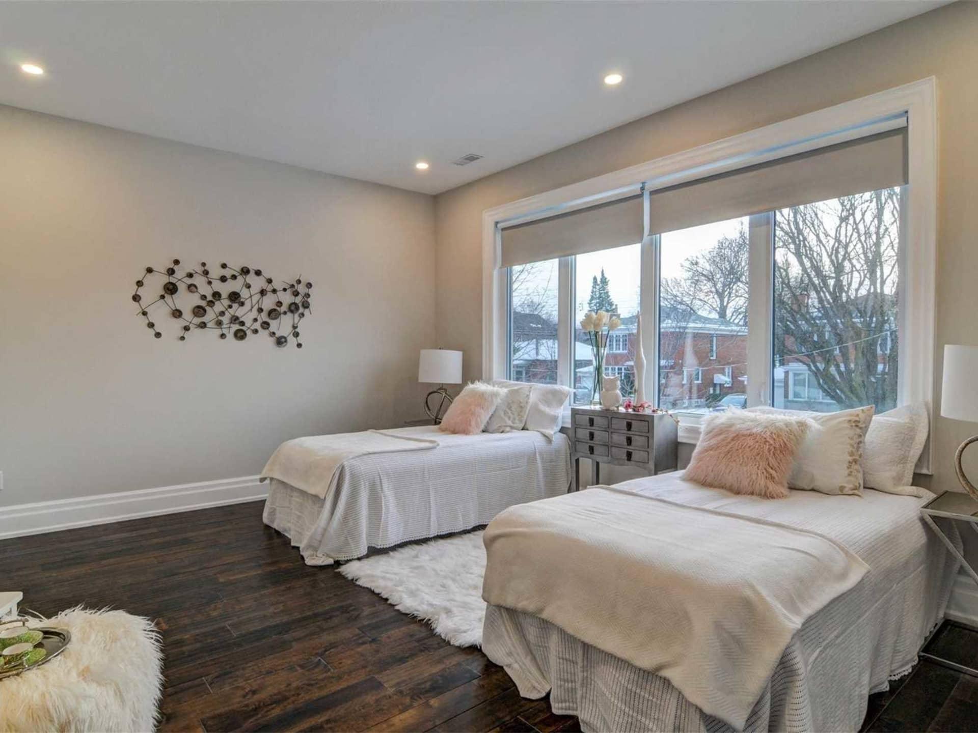 Second Bedroom, 9 Lloyd Manor, Toronto Home Staging